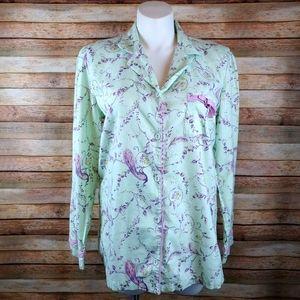 Victoria's secret vintage flannel pajama top XL